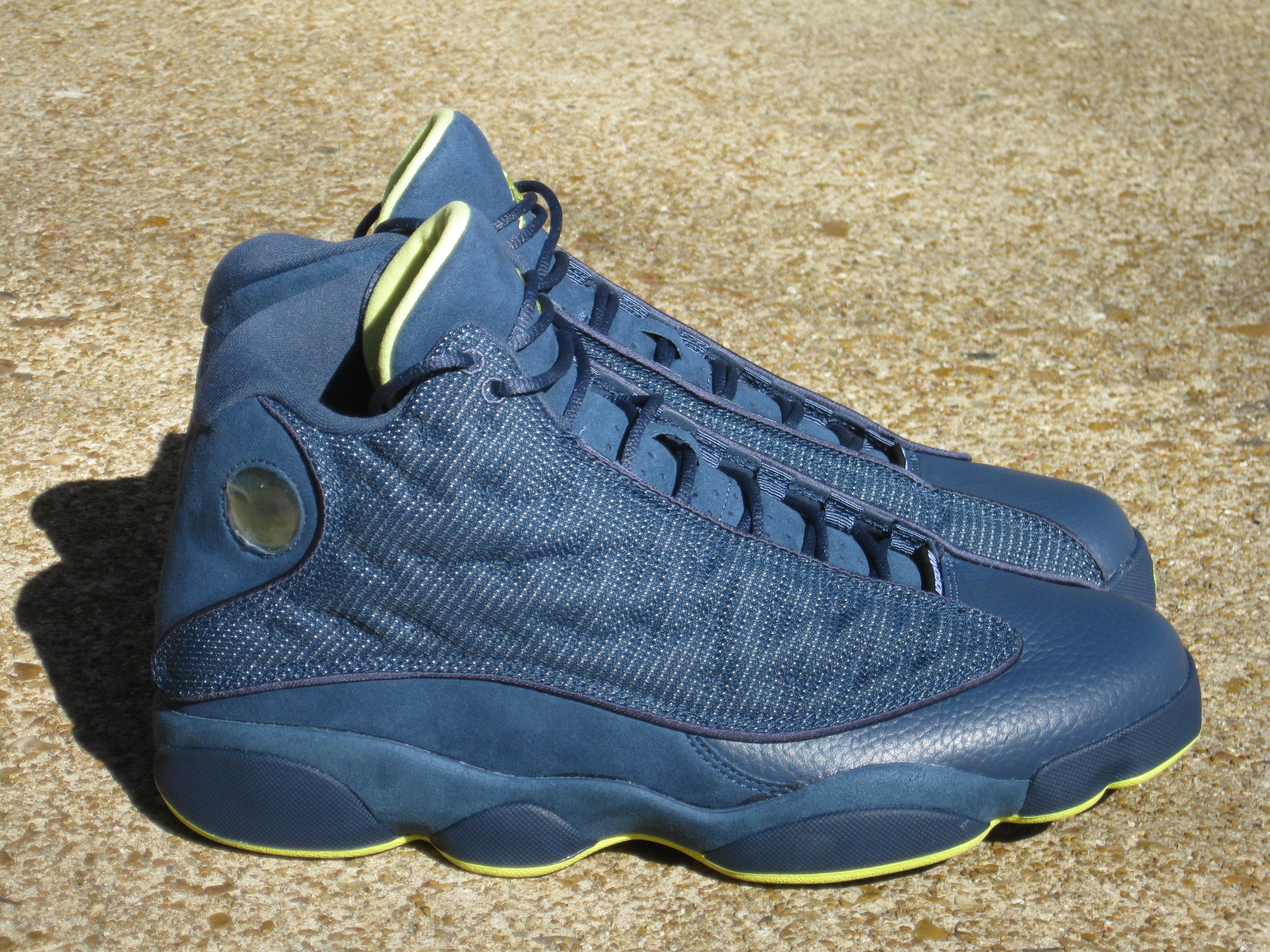 Air Jordan 13 Blue And Yellow