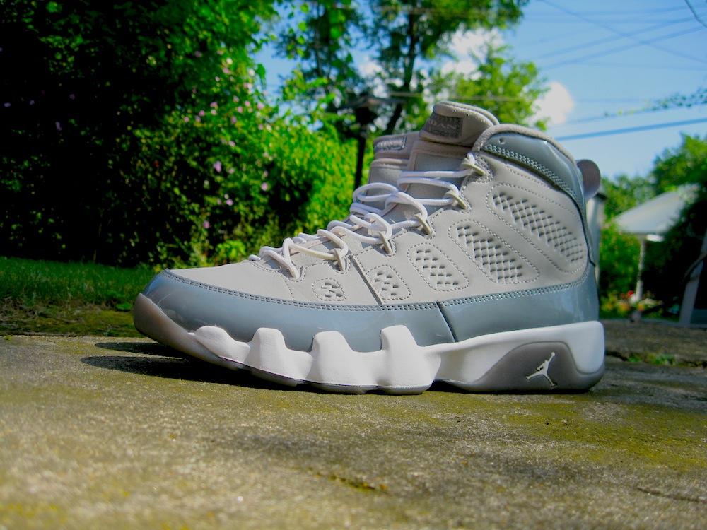 Air Jordan 9 Retro Cool Grey shoes