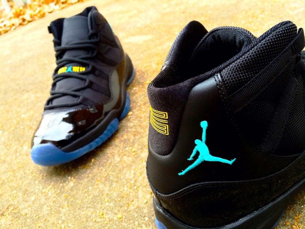 shoe game air jordan 11 retro gamma blue first look